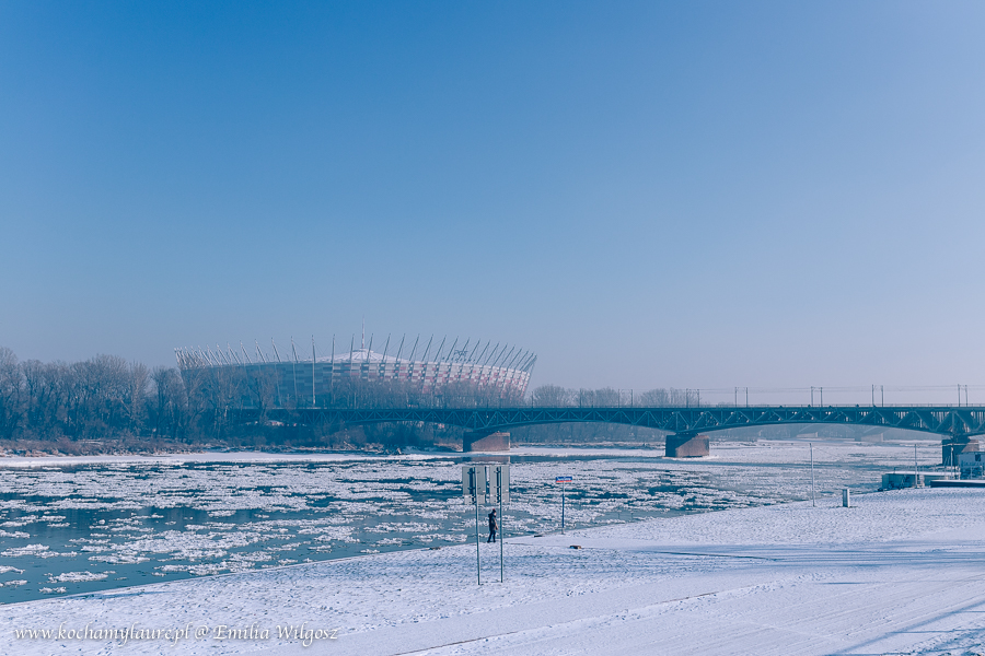 Stadion Narodowy w Warszawie - Zima 2017
