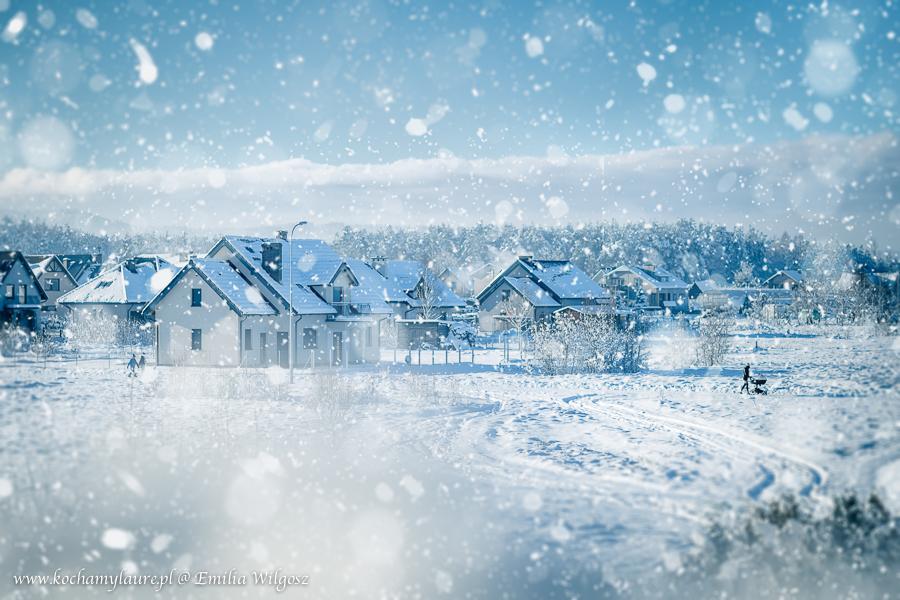 Zimowy krajobraz - jak w bajce