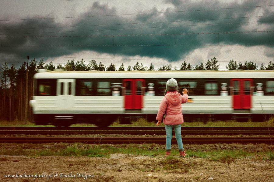 Pożegnanie - fotografia dziecięca