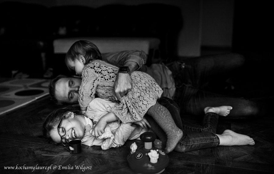 Wygłupy - fotografia rodzinna