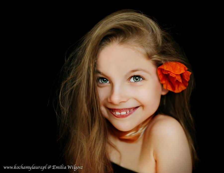 Portret Laury - fotografia dziecięca