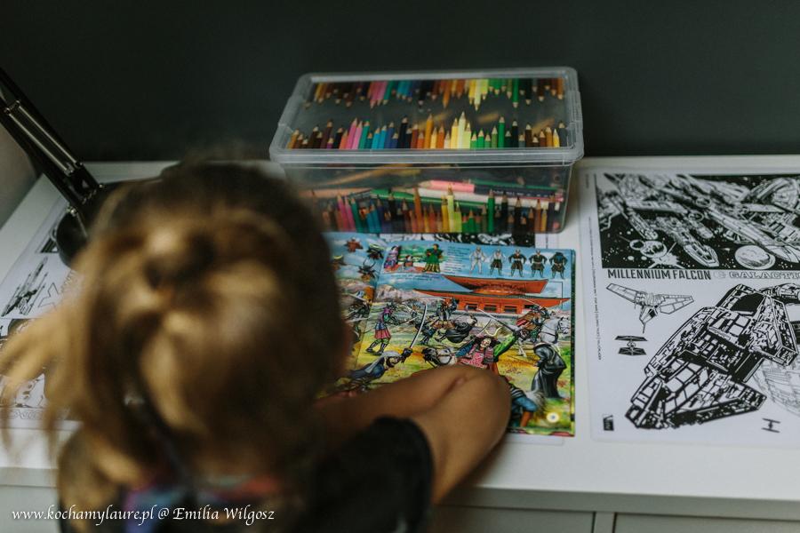 Pomysł na pokój dla dziecka Gwiezdne Wojny