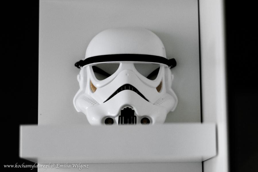 Maska szturmowca Star Wars Gwiezdne Wojny