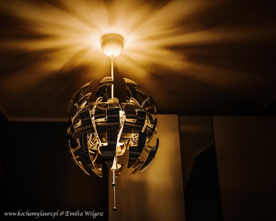 Gwiazda Śmierci Star Wars lampa IKEA