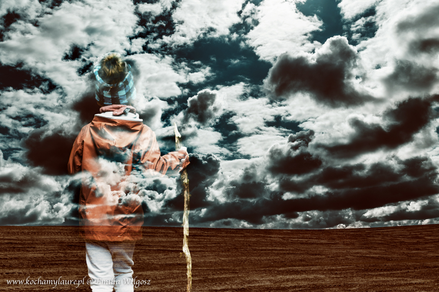 Duch wędrowca - fotografia kreatywna