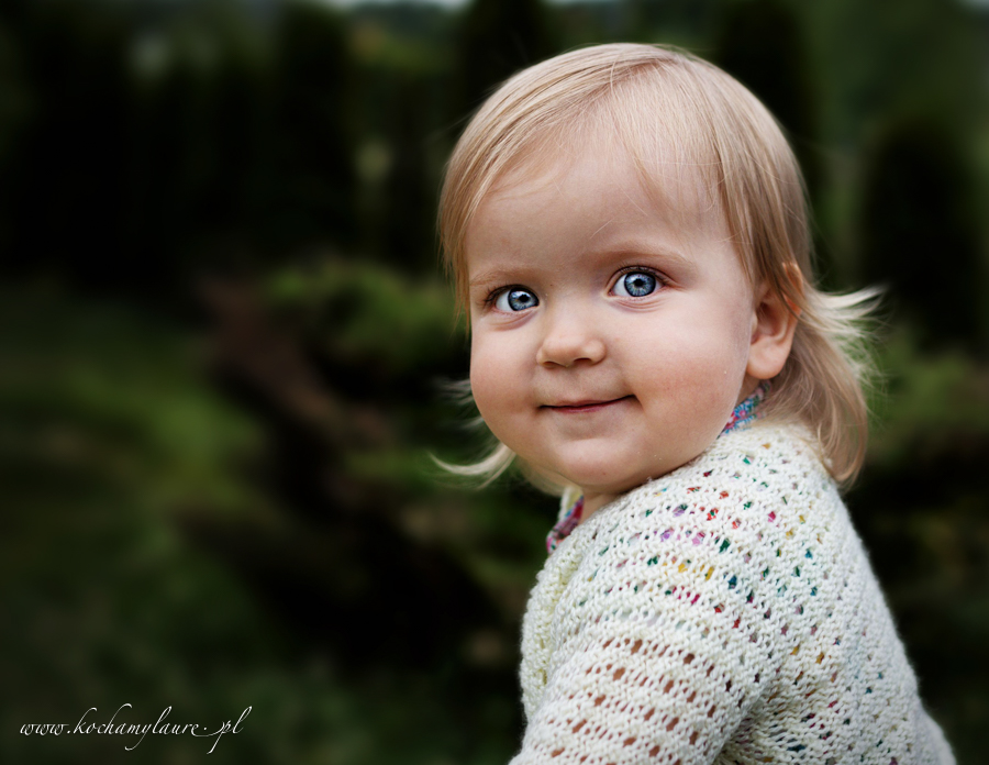 Portret Kai - zdjęcie dziecka
