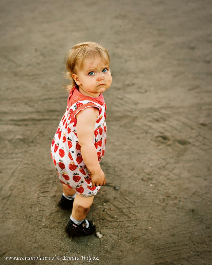 Mały brudasek - portret dziecka