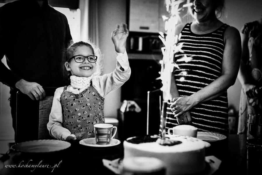 Urodziny Laury - fotografia dzieci