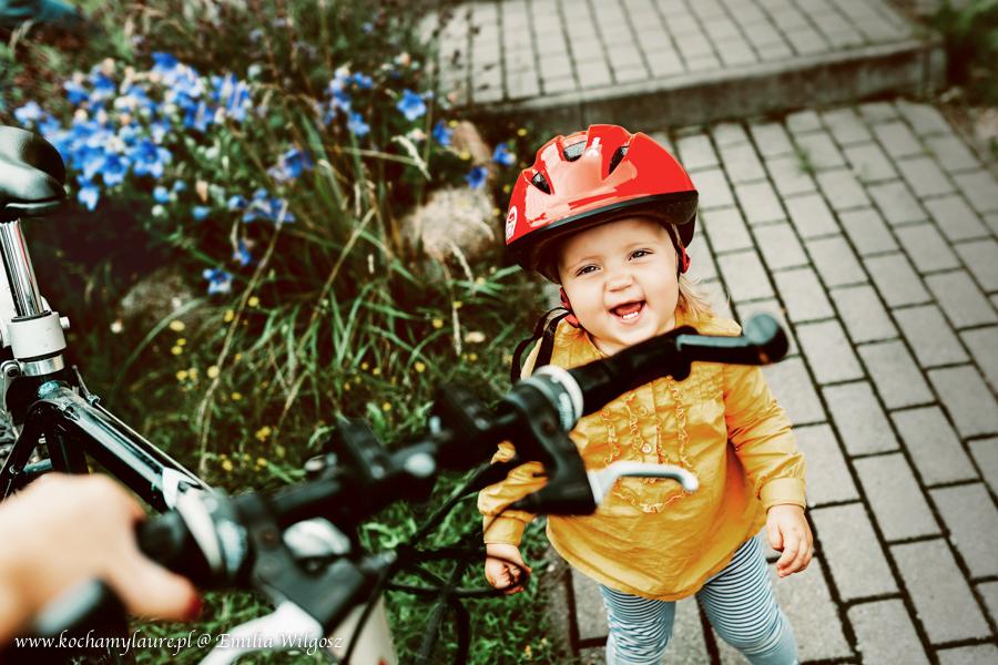 Dziecko na rowerze - zdjęcia