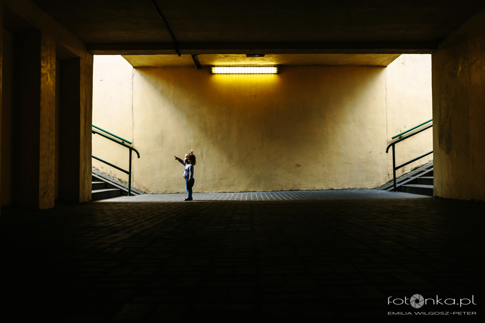 Dziecko i przestrzeń - fotografia