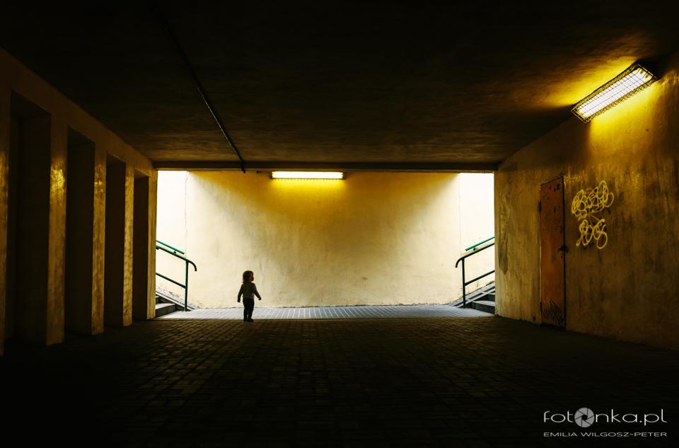 Dziecko w przestrzeni miejskiej - zdjęcia uliczne