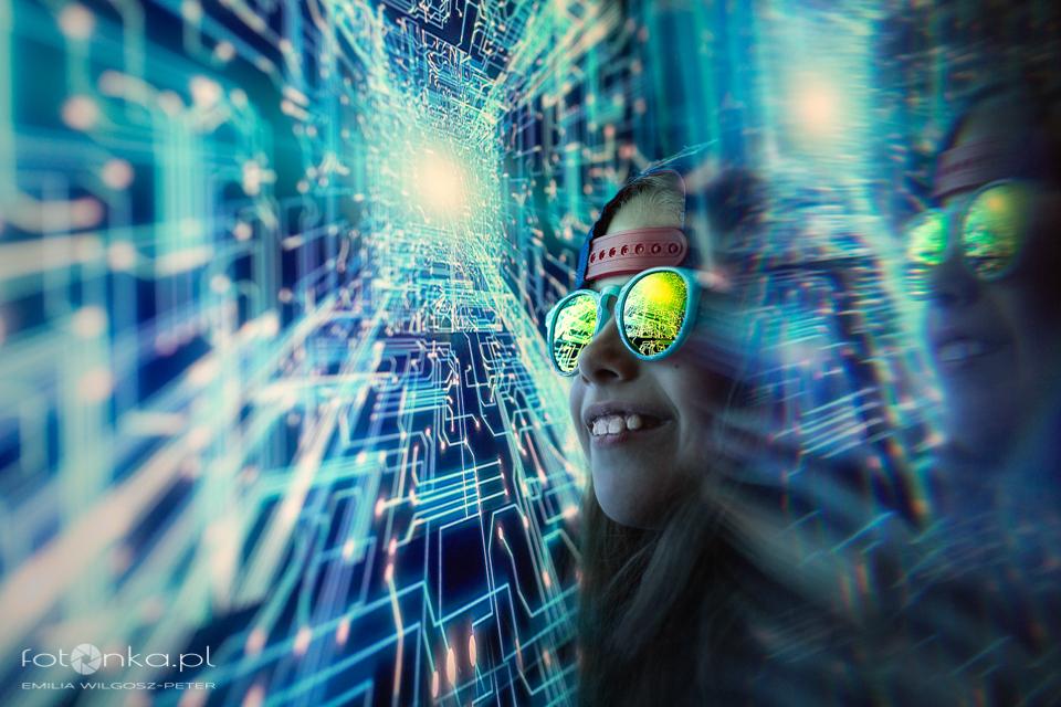 Matrix - fotografia dziecięca