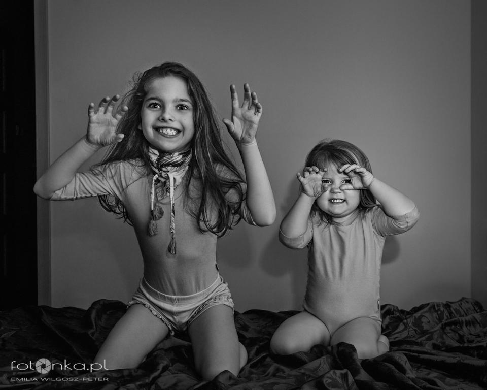 Zabawa dzieci - fotografia dziecięce
