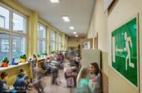 Na szkolnym korytarzu – Wrzesień 2019