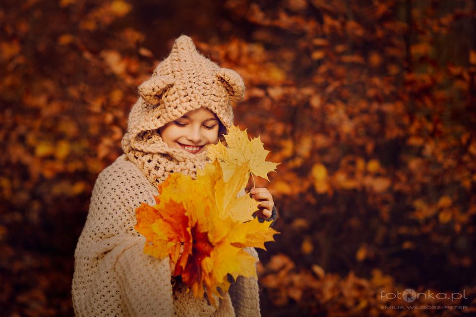 Sesja jesienna w plenerze 4