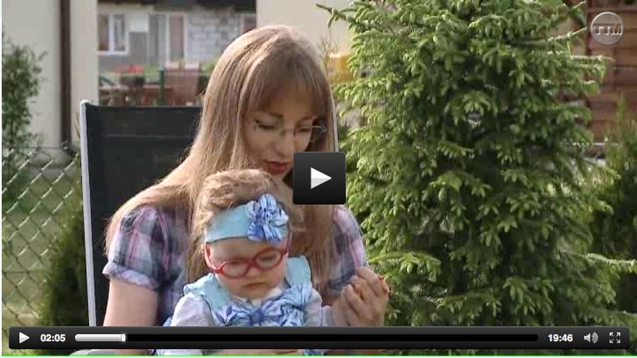 Emilia mama Laury w TV