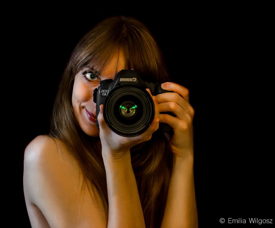 Emilia Wilgosz - Autoportret