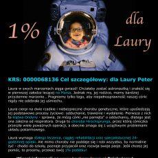 1 procent dla Laury